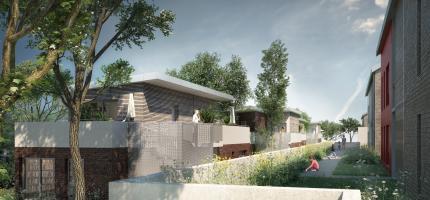Perspective du programme neuf Rouen Mont-Gargan